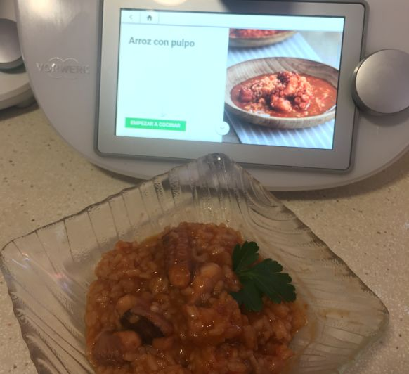 ARROZ CON PULPO Thermomix®