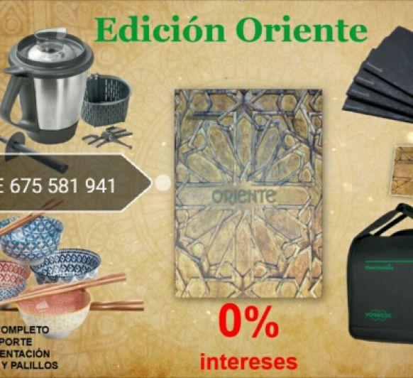 EDICIÓN ORIENTE AL 0% INTERESES Y 2° VASO