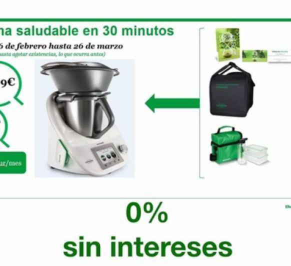 Thermomix® CON EDICIÓN Y SIN INTERESES