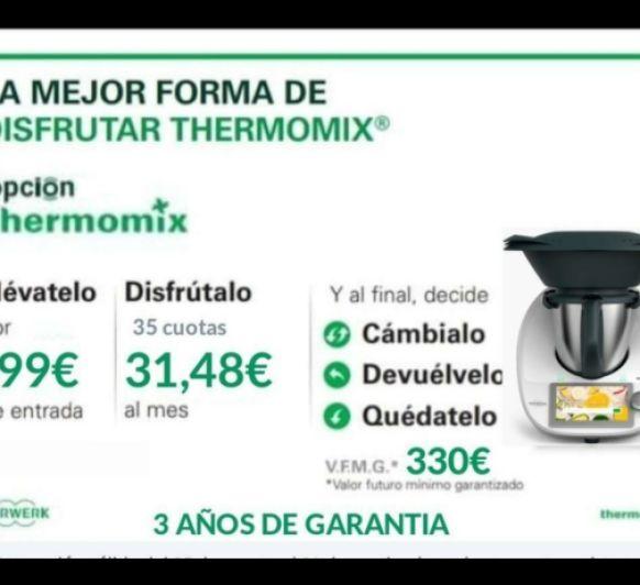 Tu Thermomix® por 1 € al día