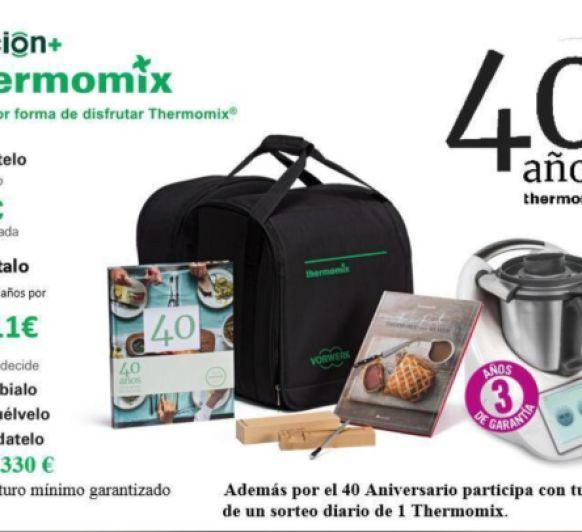 Thermomix® 40 ANIVERSARIO EN ESPAÑA: ESTAMOS DE CELEBRACIÓN