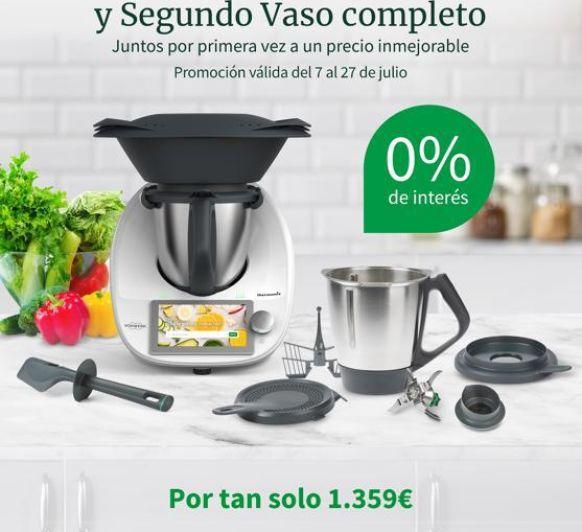 Thermomix® SIN INTERESES 0% Y SEGUNDO VASO COMPLETO