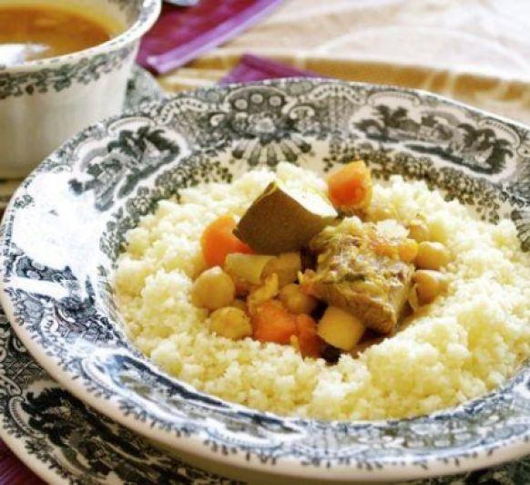 CUSCÚS MARROQUÍ - Cocina Mediterránea