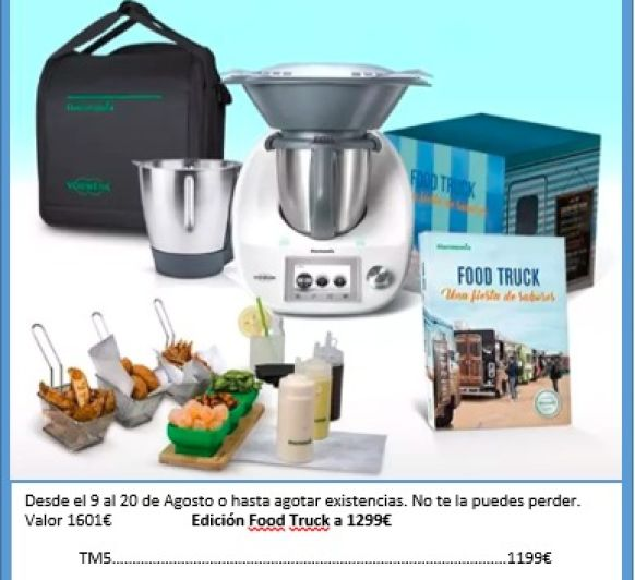 Thermomix® TM5 CON DOBLE VASO