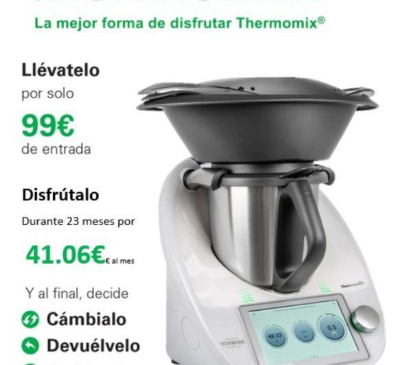 COMPRAR Thermomix® : La mejor Opción de tener tu TM6 OPCIÓN PLUS +