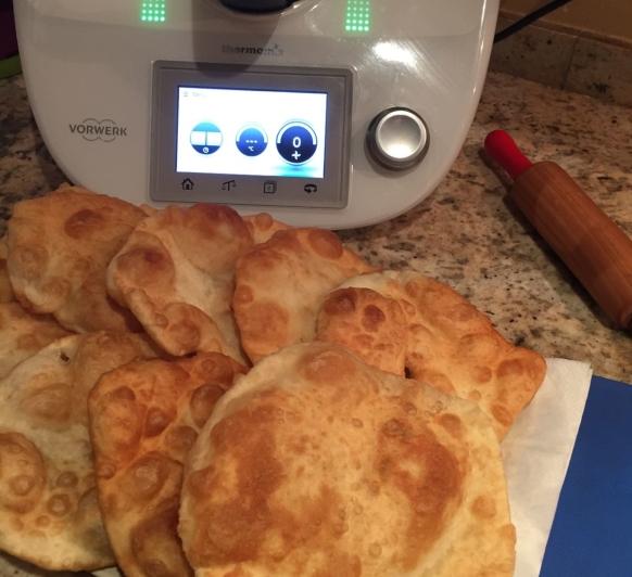 Coquetes fregides/tortas fritas