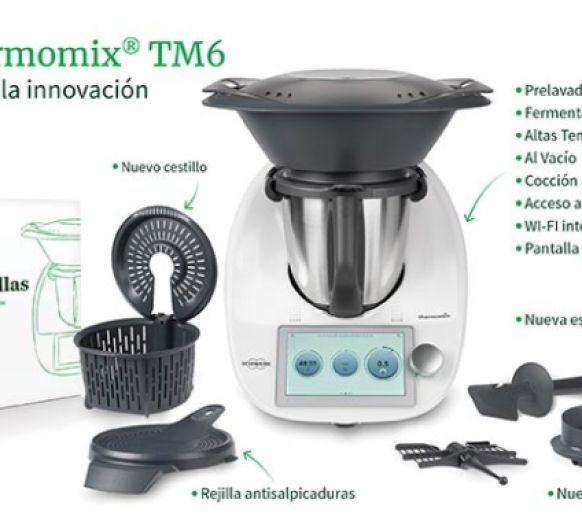 Thermomix® TM6 REVOLUCIONA TU COCINA