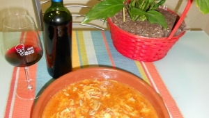 Gazpacho Manchego ( a mi manera )