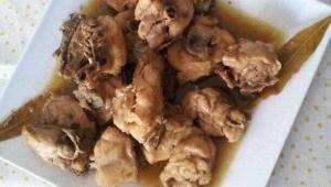 pollo en salsa con cocacola