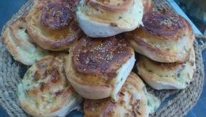 Panecillos de queso de cabra